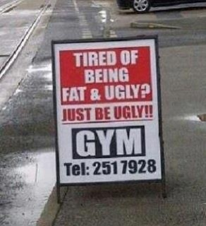 funny fitness sign 3