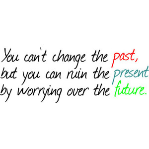 Change the past