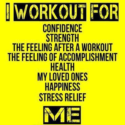 Workout Reason